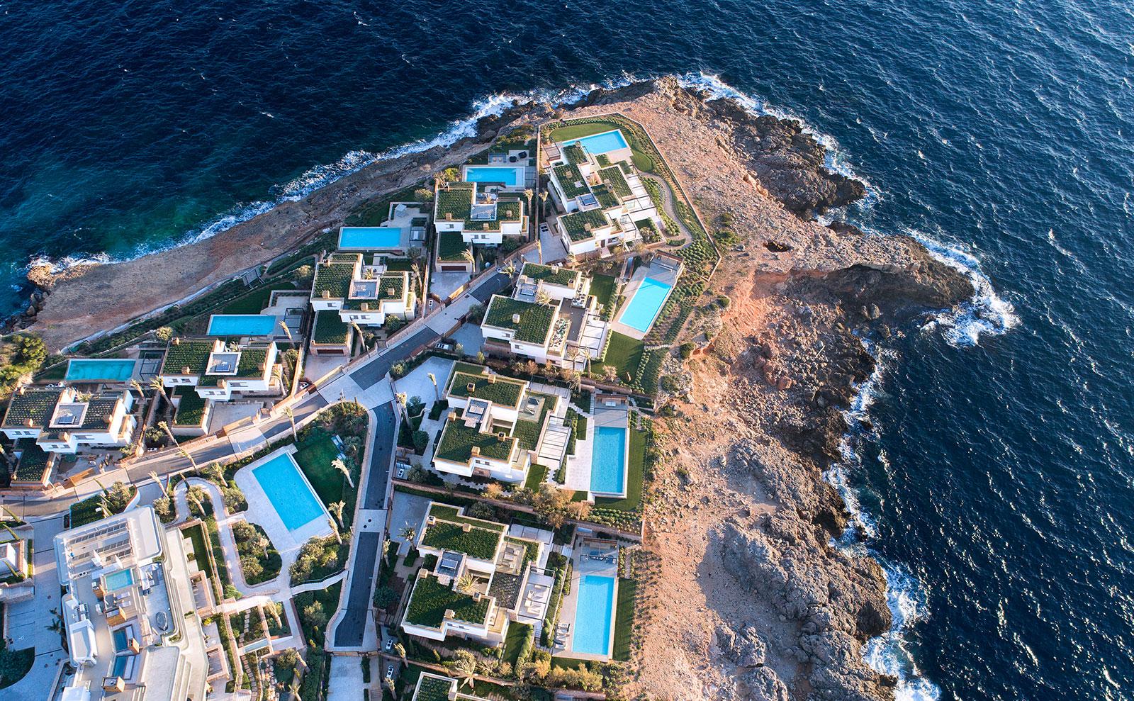 Complejo 10 villas Cap Adriano